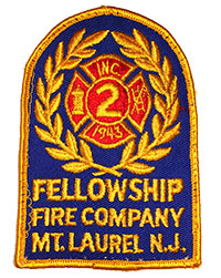 Fellowship Fire Company Meeting @ Station 363, 2nd floor | Mount Laurel | New Jersey | United States